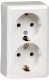 Розетка Schneider Electric Хит RA16-238-B -