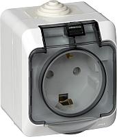 Розетка Schneider Electric Этюд PA16-044B -