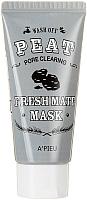 Маска для лица кремовая A'Pieu Fresh Mate Peat Mask Pore Clearing (50мл) -