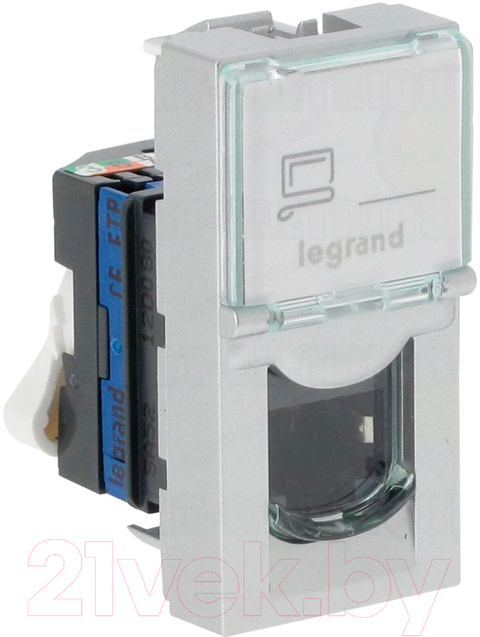 Купить Розетка Legrand, Mosaic 76552 (белый), Франция, пластик, Mosaic (Legrand)