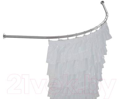 Карниз для ванны Aquatek Дуга 135x135