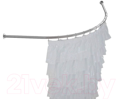 Карниз для ванны Aquatek Дуга 148x148