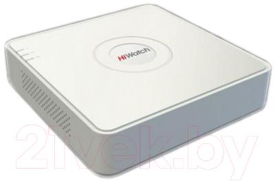 Видеорегистратор наблюдения HiWatch DS-N204P(B)
