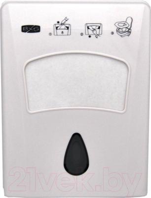 Диспенсер для накладок на унитаз BXG CD-8019 - общий вид