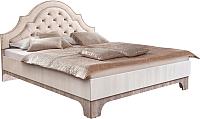 Двуспальная кровать Рэйгрупп Jakarta РГ-01 МП (ясень снежный/сосна натуральная) -
