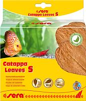 Корм для рыб Sera Catappa Leaves Листья индийского миндаля S / 32273 (10шт) -