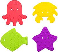 Комплект ковриков для купания Roxy-Kids RBM-010-4 (4шт) -