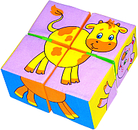 Развивающая игра Мякиши Собери картинку. Домашние животные / 209 -