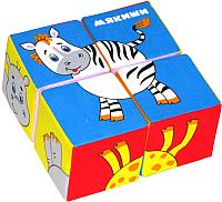 Развивающая игра Мякиши Собери картинку. Животные Африки / 210 -