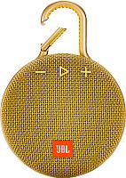 Портативная колонка JBL Clip 3 (желтый) -