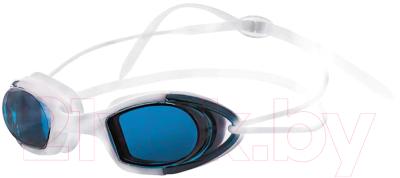 Очки для плавания Atemi N9102M (белый/синий)