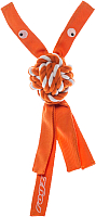 Игрушка для собак Rogz Cowboyz Small / RKN01D (оранжевый) -