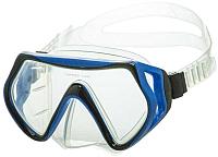 Маска для плавания Atemi 402 (голубой/черный) -