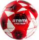 Футбольный мяч Atemi Spectrum PU (размер 3, белый/красный) -