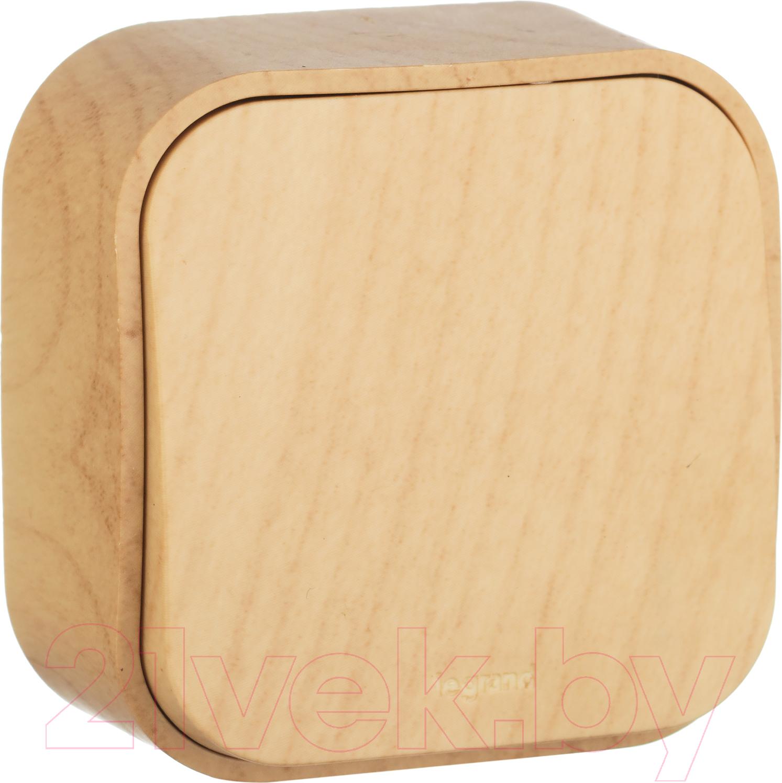 Купить Выключатель Legrand, Quteo 782260 (дерево), Франция, пластик, Quteo (Legrand)