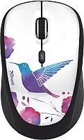 Мышь Trust Yvi / 20251 (птица) -