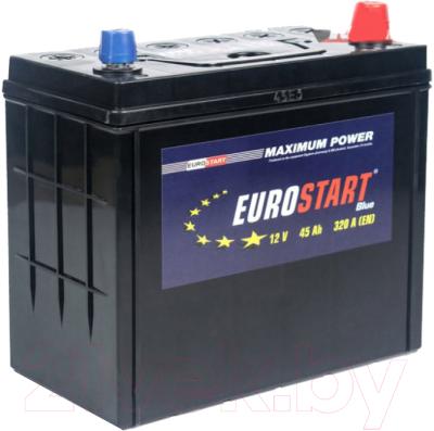 Автомобильный аккумулятор Eurostart Blue Asia L+ (45 А/ч)