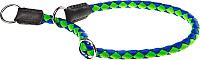 Ошейник-полуудавка Ferplast Twist CS12/35 / 75268023 (зеленый/синий) -