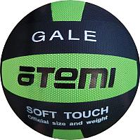 Мяч волейбольный Atemi Gale (черный/салатовый) -