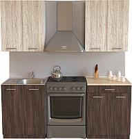 Готовая кухня Хоум Лайн Луиза 1.2 (венге мали/сосна касцина) -