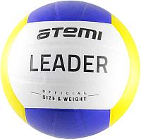 Мяч волейбольный Atemi Leader (желтый/голубой/белый) -