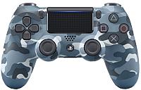 Геймпад Sony Dualshock 4 PS4 / PS719726111 (синий камуфляж) -