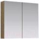 Шкаф с зеркалом для ванной Aqwella MC / МС.04.07/DS (дуб сонома) -