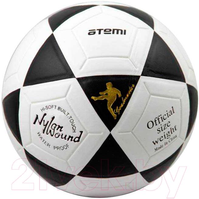 Купить Футбольный мяч Atemi, Goal (размер 5, белый/черный), Китай