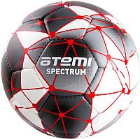 Футбольный мяч Atemi Spectrum (размер 5, белый/серый) -