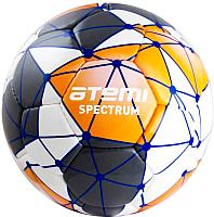 Футбольный мяч Atemi Spectrum (размер 5, белый/серый/оранжевый) -