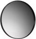 Зеркало для ванной Belux Биарритц В80 (19, черный матовый) -