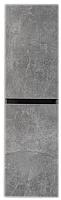 Шкаф для ванной Belux Париж П35 (31, бетон Чикаго/ светло-серый) -