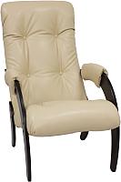 Кресло мягкое Импэкс 61 (венге/Polaris Beige) -