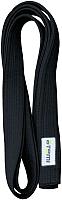 Пояс для кимоно Atemi Черный (280см) -