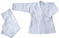 Кимоно для дзюдо Atemi AX7 (р-р 48-50/170, белый) -