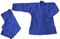 Кимоно для дзюдо Atemi AX7 (р-р 52-54/180, синий) -