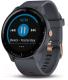Умные часы Garmin Vivoactive 3 Music / 010-01985-33 (синий/гранит) -
