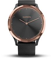 Умные часы Garmin Vivomove HR Sport / 010-01850-26 (розовое золото/черный) -