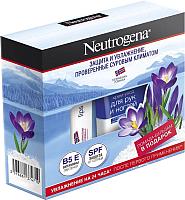 Набор косметики для лица и тела Neutrogena Норвежская формула крем д/рук и ногтей 75мл+бальзам-помада 4.8г -