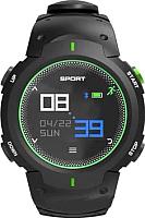 Умные часы NO.1 F13 (черный/зеленый) -