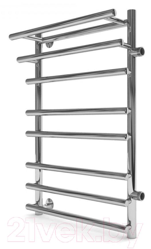 Купить Полотенцесушитель водяной ZorG, Platinum Plus 800x500 R500 (с полочкой), Россия, нержавеющая сталь