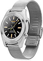 Умные часы NO.1 S9 (серебристый, стальной ремешок) -