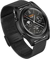 Умные часы NO.1 S9 (черный, стальной ремешок) -
