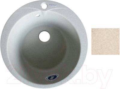 Мойка кухонная Gran-Stone GS-08L (бежевый)