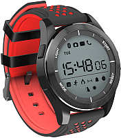 Умные часы NO.1 F3 (черный/красный) -