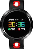 Умные часы Prolike PLSW4000R (черный/красный) -