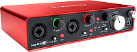Аудиоинтерфейс Focusrite Scarlett 2i4 2nd gen -