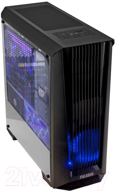 Купить Корпус для компьютера 3Cott, Paladin III (черный), Китай