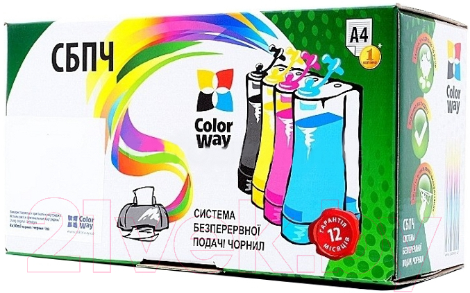 Купить Заправочный комплект ColorWay, XP600RC-4.1, Китай, черный