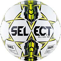 Футбольный мяч Select Blaze DB 004 (размер 5, белый/зеленый) -